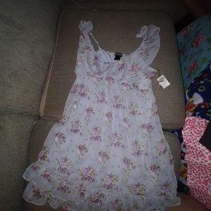 Fluttery dress